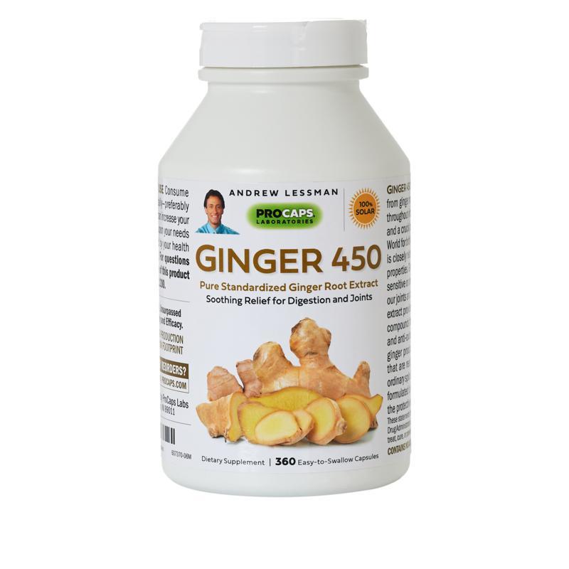 Andrew Lessman Ginger-450 - 360 capsules