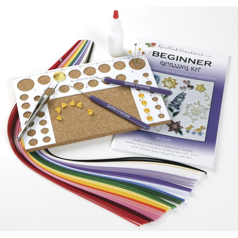 Scrapbooking Beginner Quilling Kit