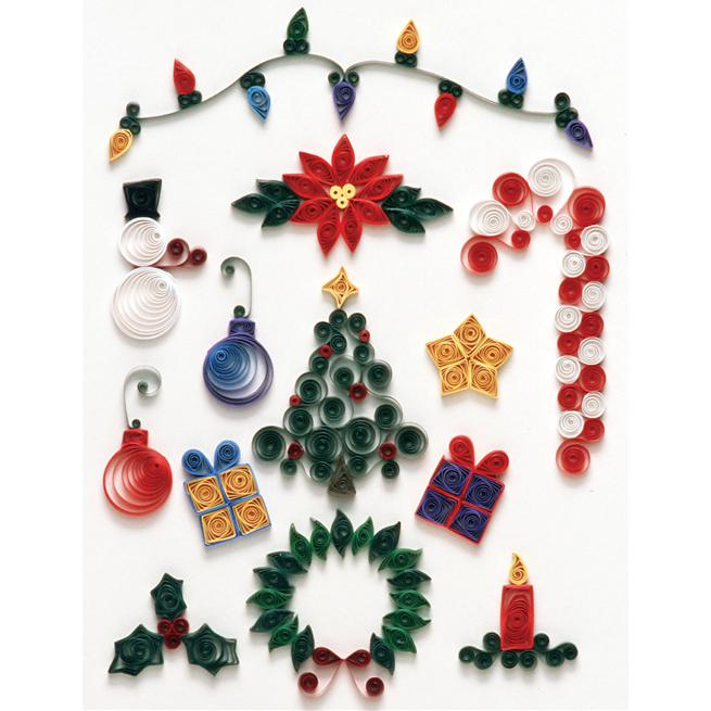 QUILLED CREATIONS Quilled Creations Quilling Kit - Christmas