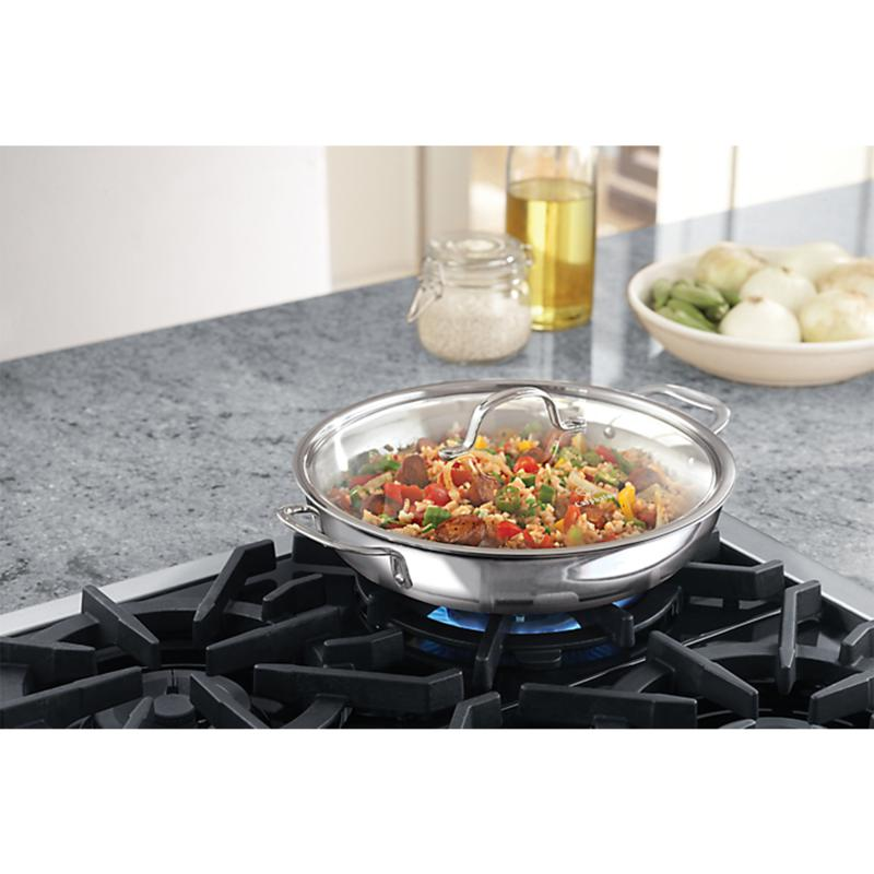 """""""Calphalon Calphalon Tri-Ply 12"""""""" Stainless Steel Everyday Pan"""""""