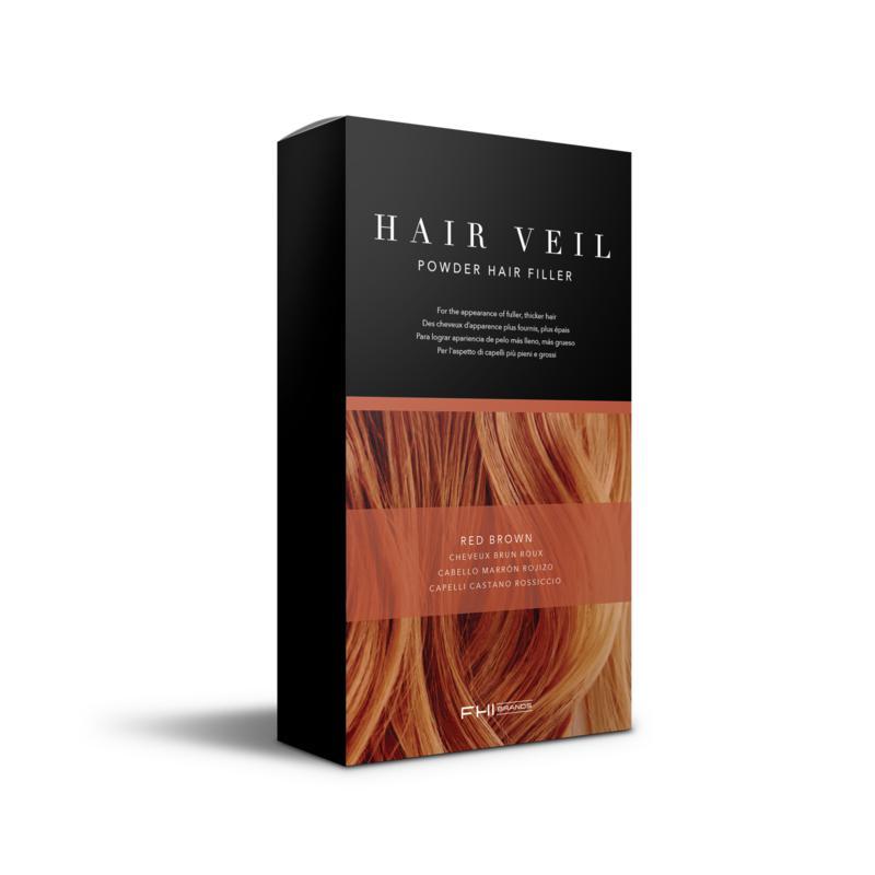 FHI Heat FHI Heat Hair Veil Powder Hair Filler - Red Brown