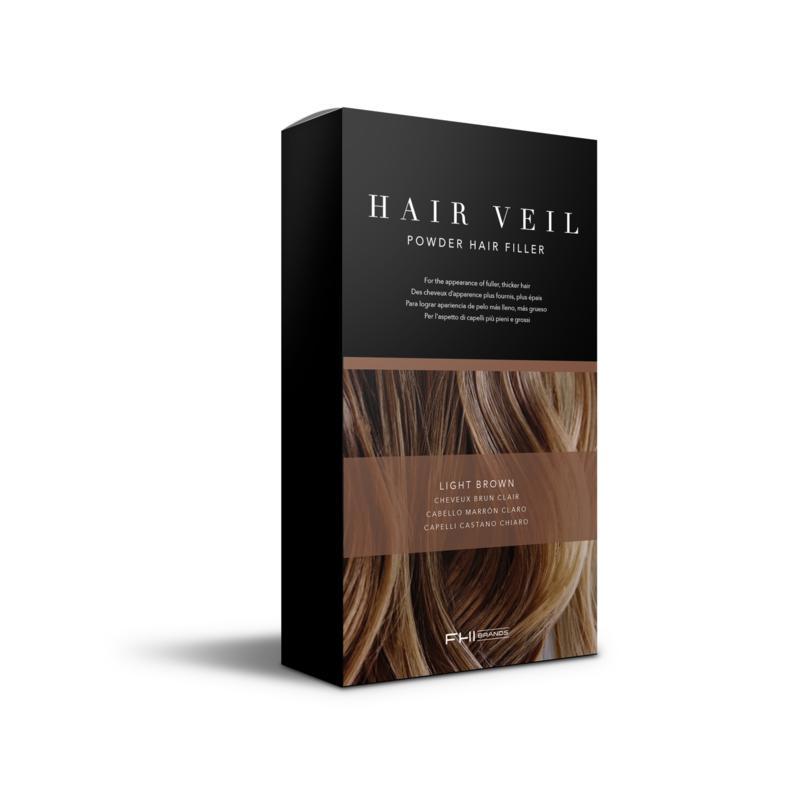 FHI Heat FHI Heat Hair Veil Powder Hair Filler - Light Brown