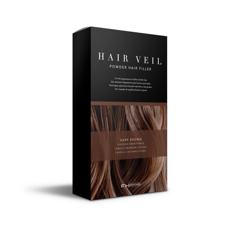 FHI Heat FHI Heat Hair Veil Powder Hair Filler - Dark Brown