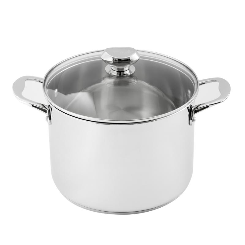 Wolfgang Puck Wolfgang Puck 8-Quart Stainless Steel Stockpot with Lid