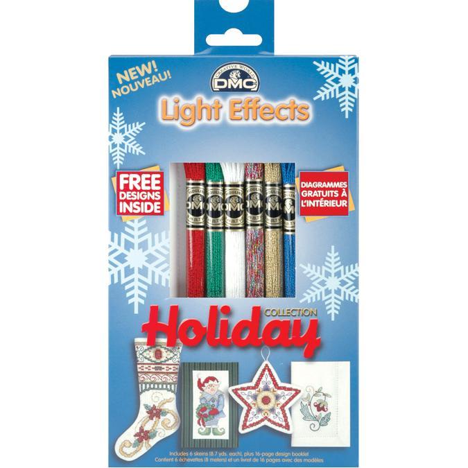 DMC DMC Light Effects Metallic Floss Pack - Holiday