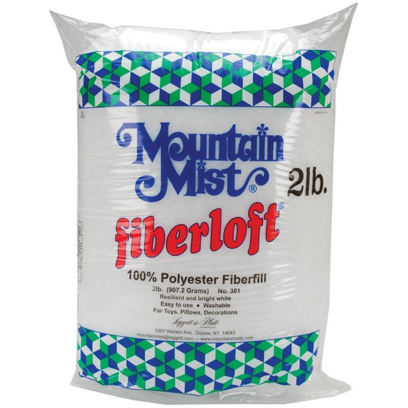 MOUNTAIN MIST FIBER Fiberloft Polyester Stuffing - 32 Ounce Bag