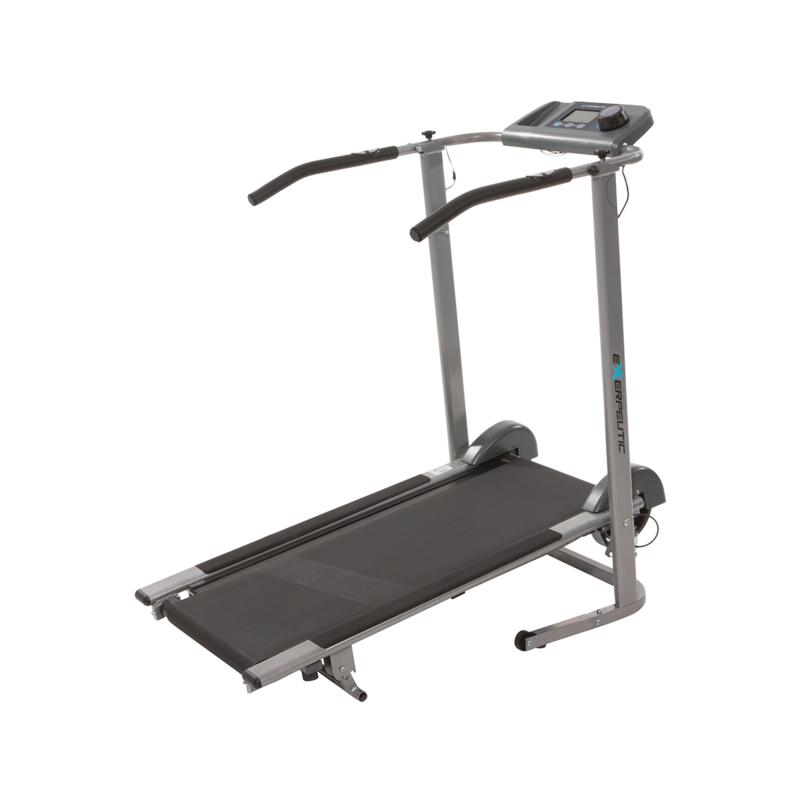 Exerpeutic Exerpeutic 100XL High Capacity Manual Treadmill with Heart Pulse