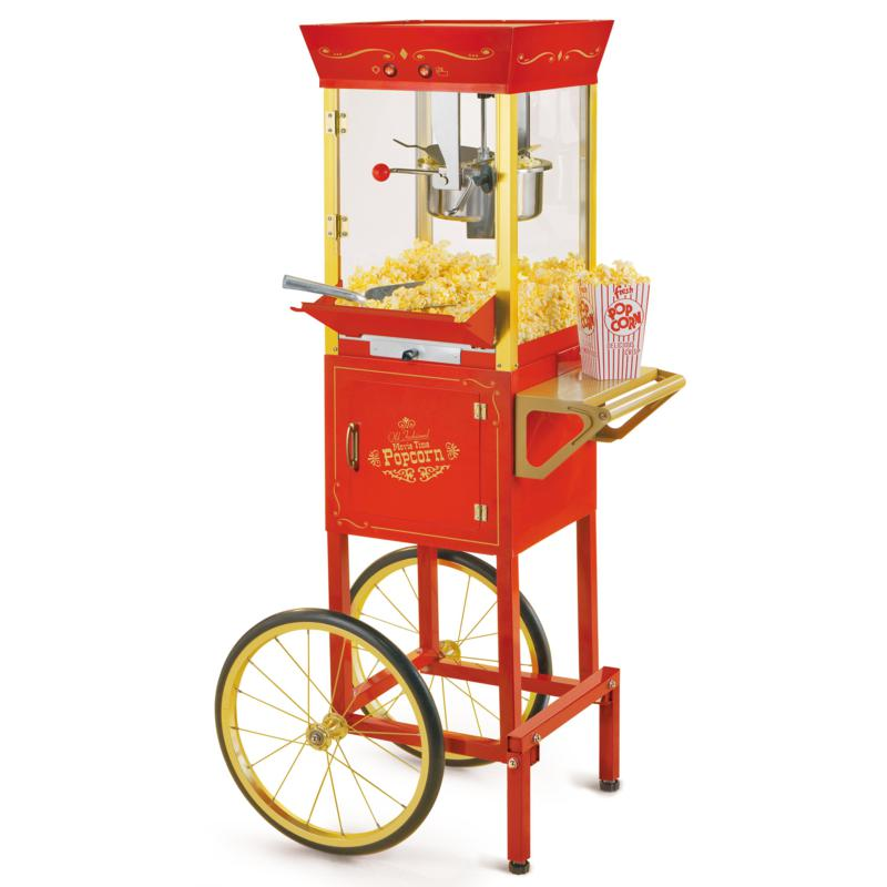 Nostalgia Electrics Circus Cart Popcorn Maker