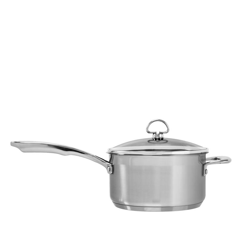 Chantal Chantal Induction 21 3.5-Quart Stainless Steel Saucepan with Lid