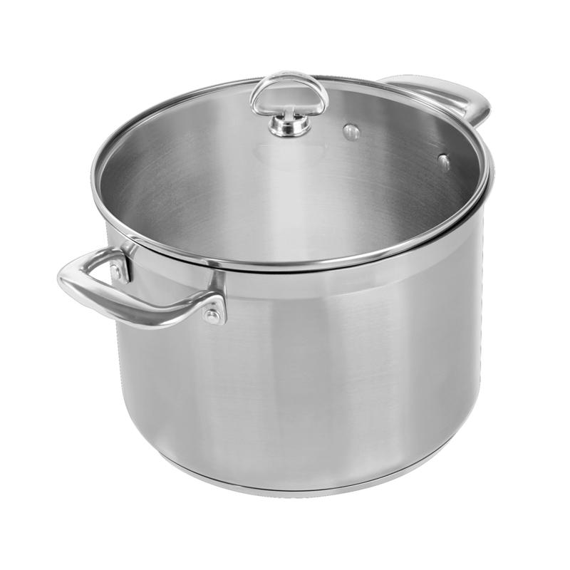 Chantal Chantal Induction 21 8-Quart Stainless Steel Stockpot with Lid