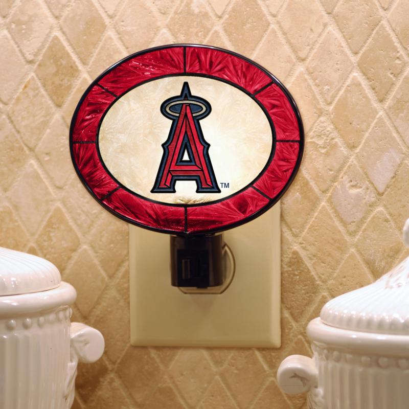 MEMORY Company Team Glass Nightlight - Anaheim Angels