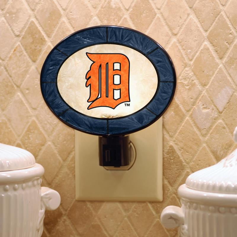MEMORY Company Team Glass Nightlight - Detroit Tigers