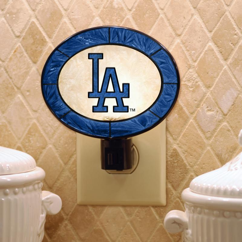 MEMORY Company Team Glass Nightlight - Los Angeles Dodgers