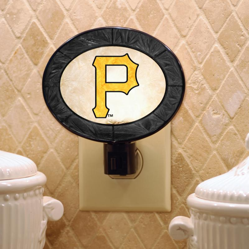 MEMORY Company Team Glass Nightlight - Pittsburgh Pirates