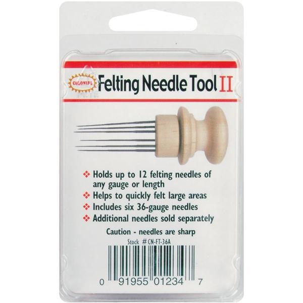 COLONIAL NEEDLE Felting Needle Tool with 6 Needles