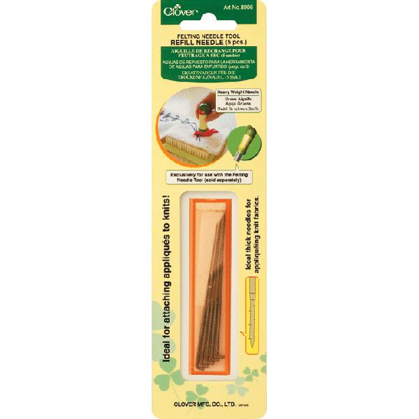CLOVER Felting Tool Heavy-Weight Refill Needle Pack