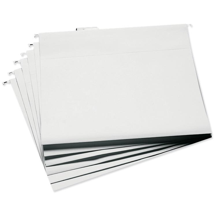 Advantus Cropper Hopper Hanging File Folders - White