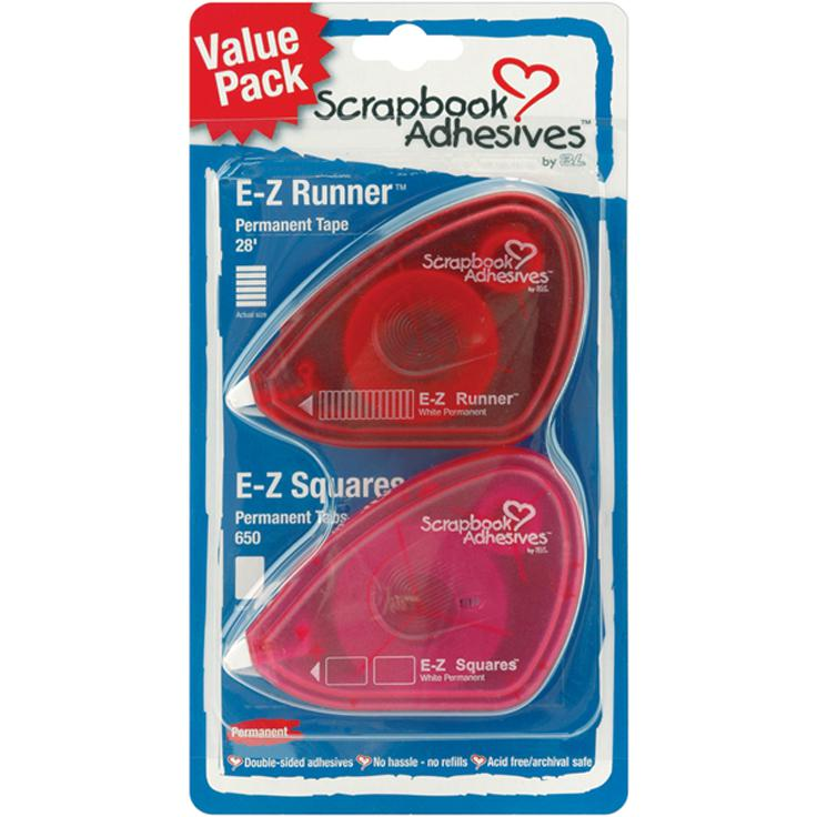 3L Scrapbook Adhesives E-Z Dispenser Value Pack - 2-pack