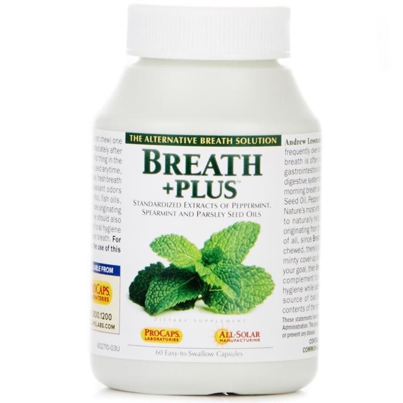 Andrew Lessman Breath+Plus - 60 Capsules