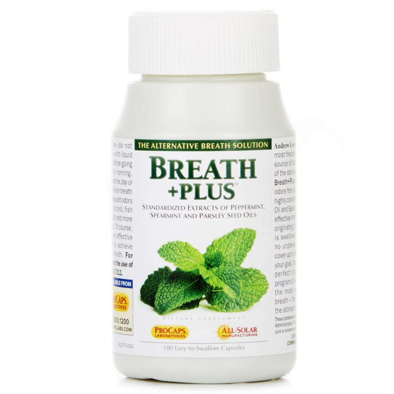 Andrew Lessman Breath+Plus - 180 Capsules