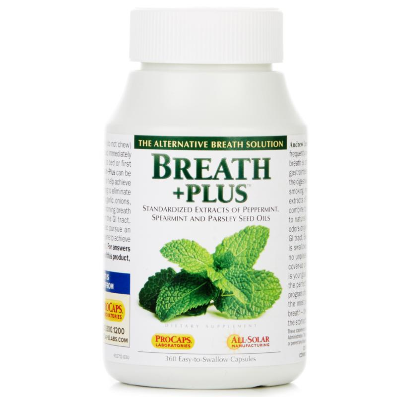 Andrew Lessman Breath+Plus - 360 Capsules