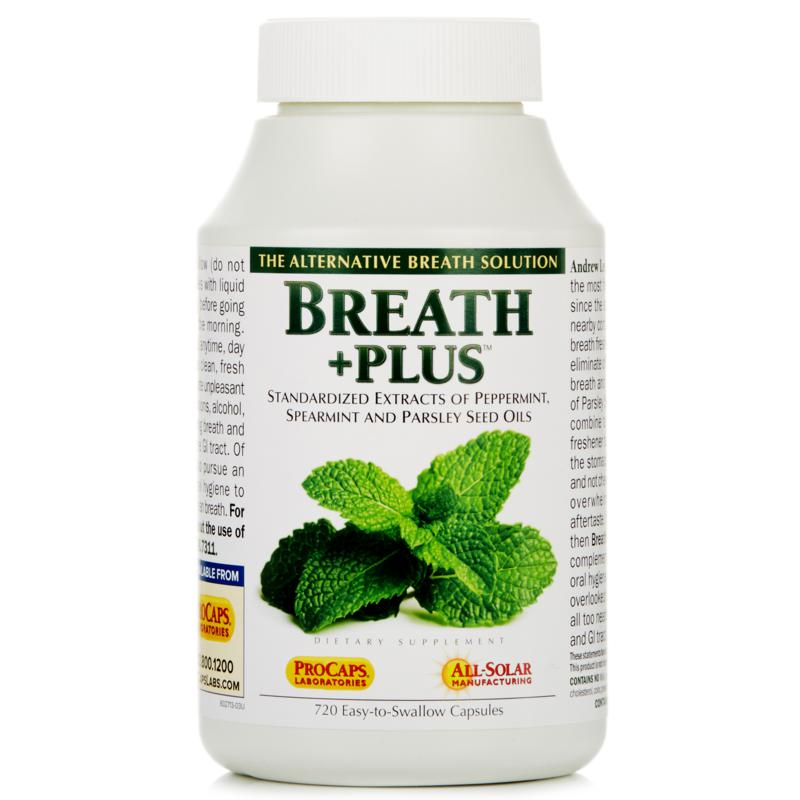 Andrew Lessman Breath+Plus - 720 Capsules