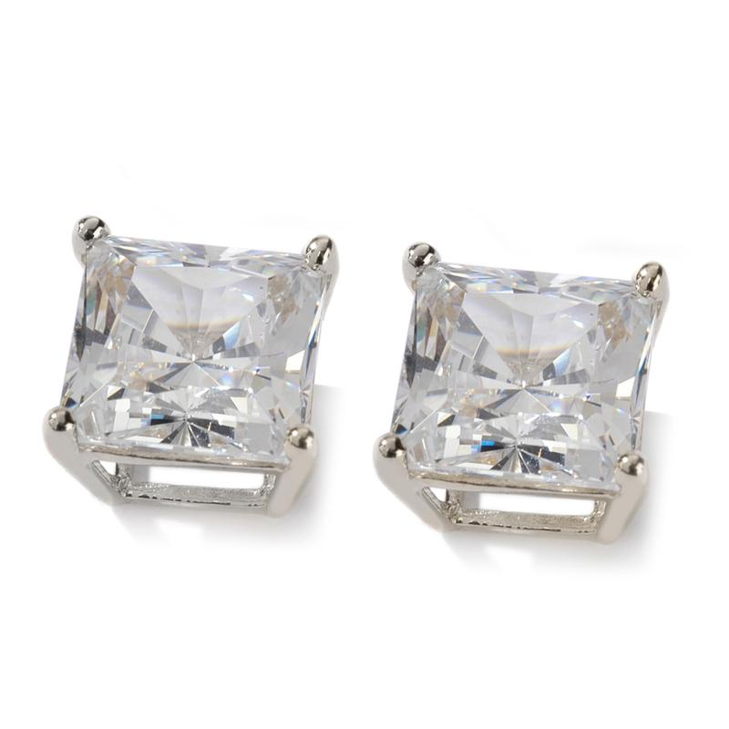 Absolute 2ct Absolute 14K Square Basket Stud Earrings
