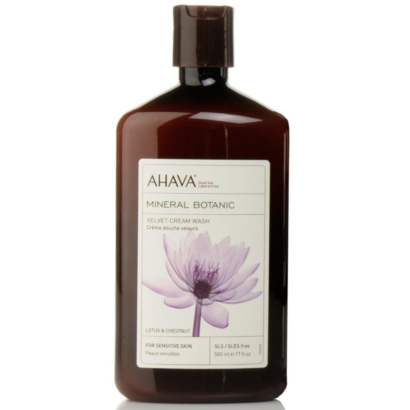 AHAVA AHAVA Lotus Flower and Chestnut Velvet Cream Wash 17 oz.