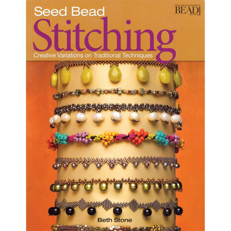 KALMBACH Kalmbach Publishing Seed Bead Stitching Book