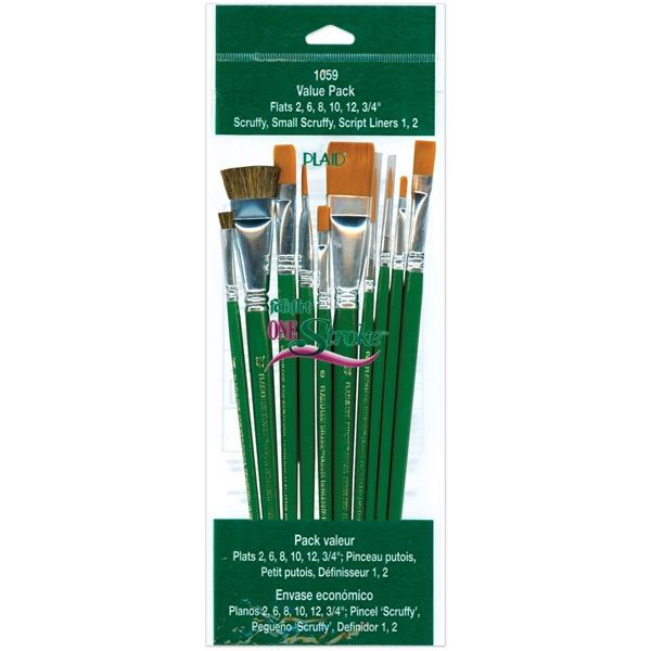 Donna Dewberry One-Stroke Brush Set - 10 Brushes