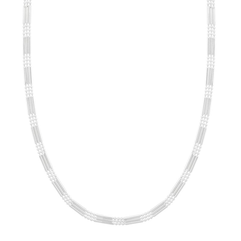 """""""""""""""DESIGNS BY FMC Sterling Silver Triple Strand 18"""""""""""""""" Necklace"""""""""""""""