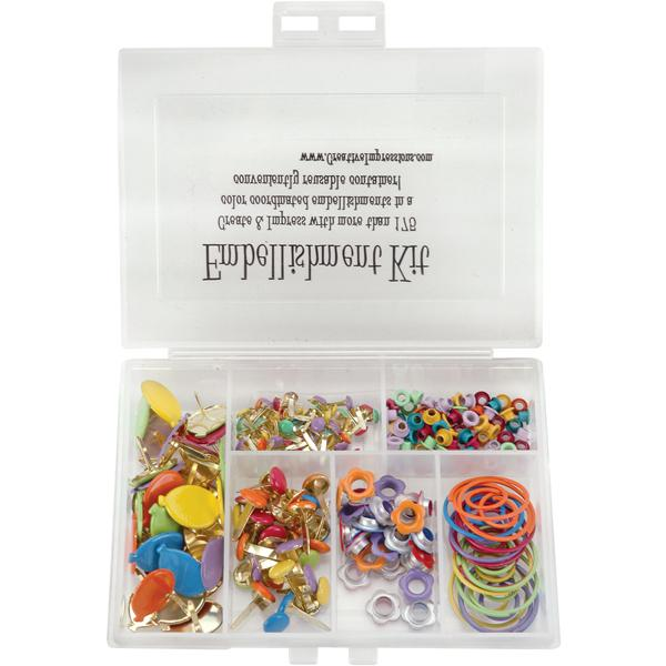CREATIVE IMPRESSIONS 175-Piece Embellishment Kit - Tropical