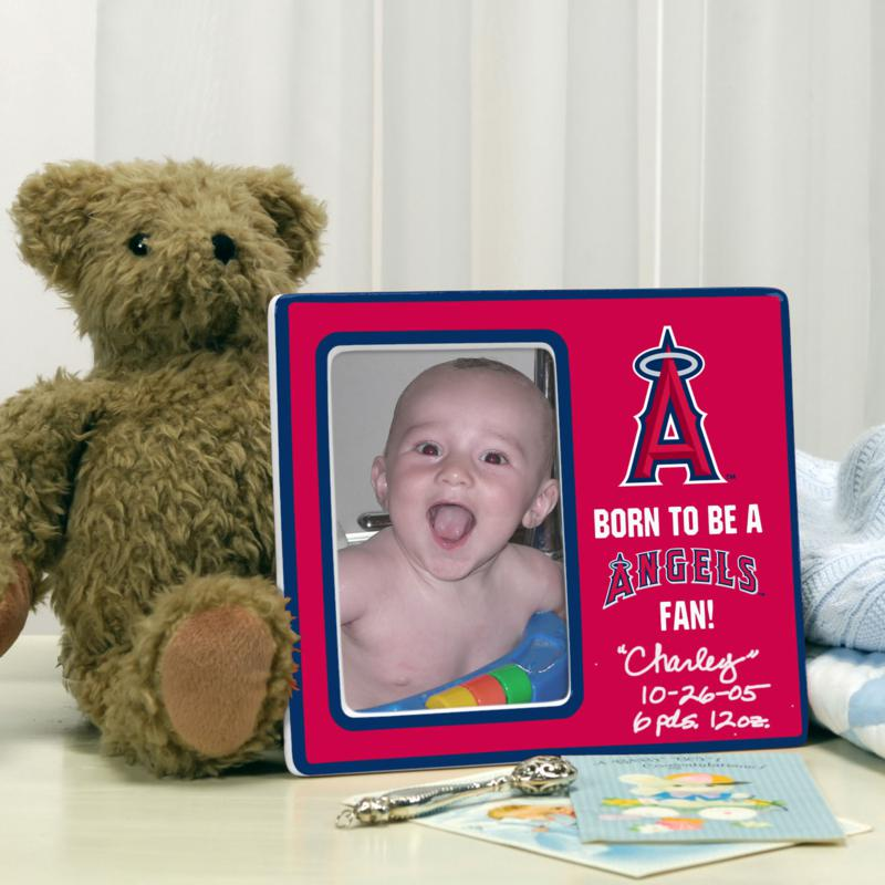 MEMORY Company Born to be an Anaheim Angels Fan Photo Frame