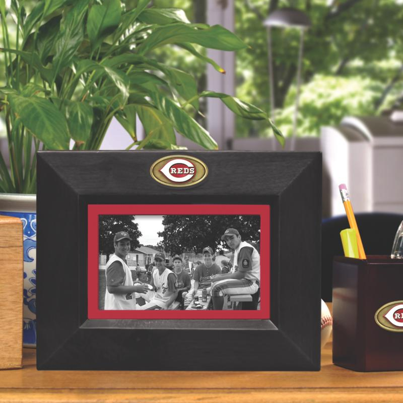 MEMORY Company Landscape Black Picture Frame - Cinncinati Reds, MLB