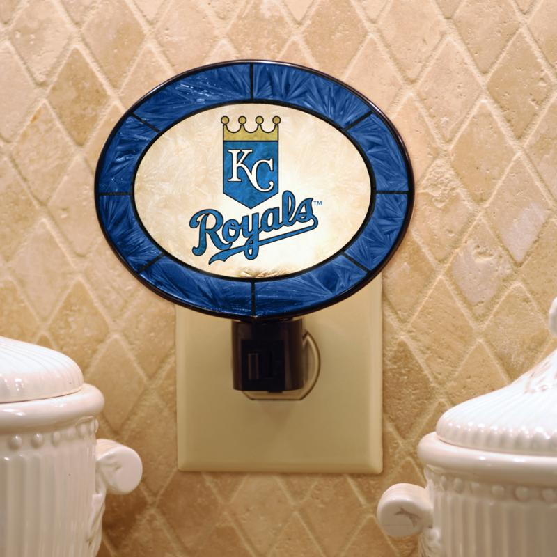 MEMORY Company Team Glass Nightlight - Kansas City Royals