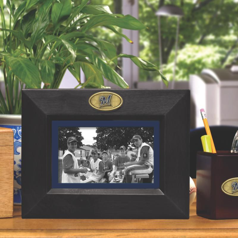 MEMORY Company Landscape Black Picture Frame - Milwaukee Brewers, MLB
