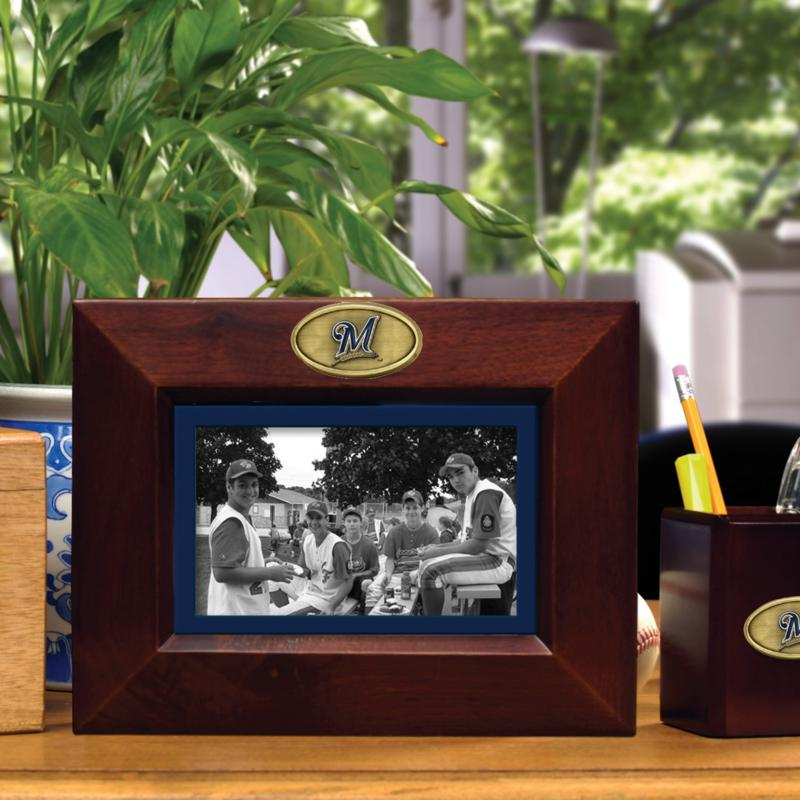 MEMORY Company Landscape Brown Picture Frame - Milwaukee Brewers