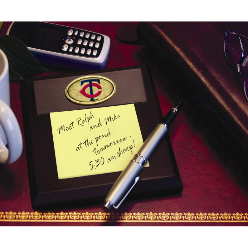 MEMORY Company Memo Pad Holder - Minnesota Twins - MLB