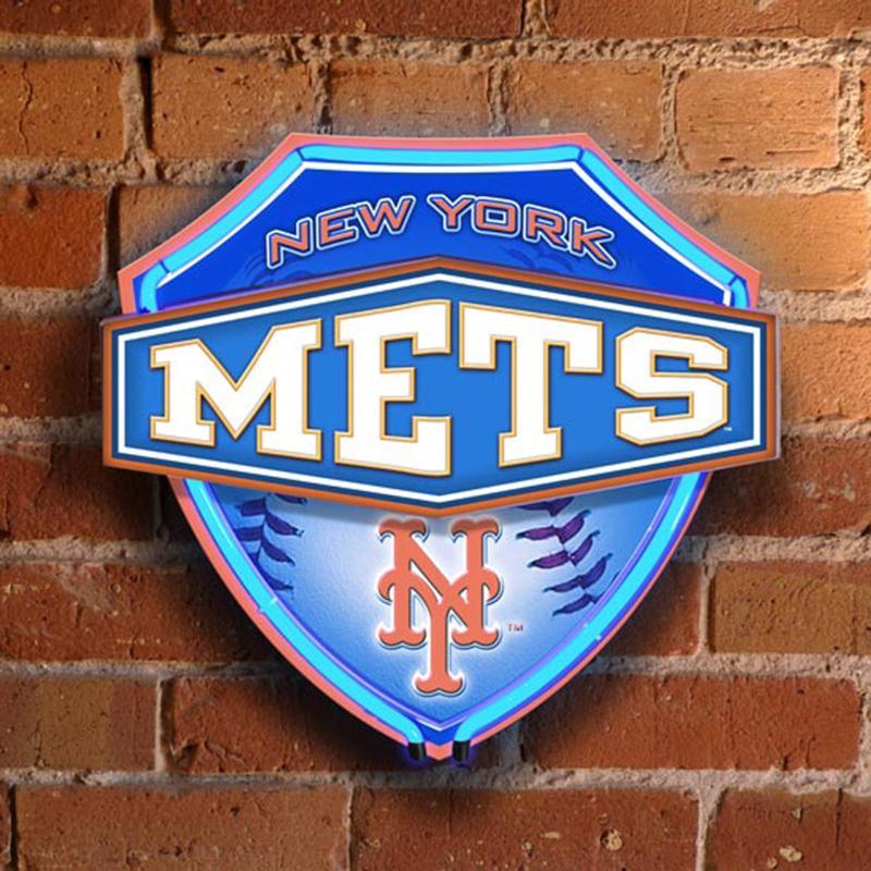 MEMORY Company Dual-Lit Neon Wall Lamp - New York Mets - MLB