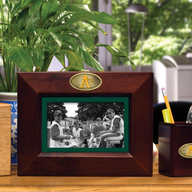 MEMORY Company Landscape Brown Picture Frame - Oakland Athletics