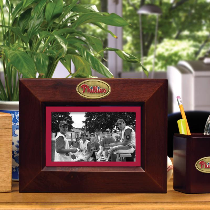 MEMORY Company Landscape Brown Picture Frame - Philadelphia Phillies
