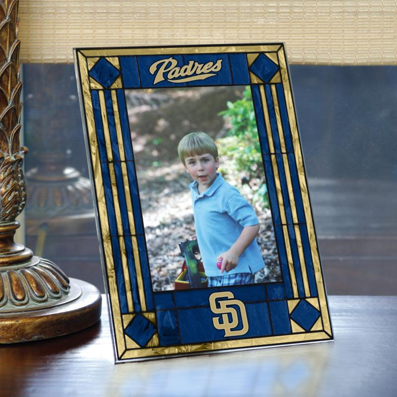 MEMORY Company Art Glass Team Photo Frame - San Diego Padres - MLB