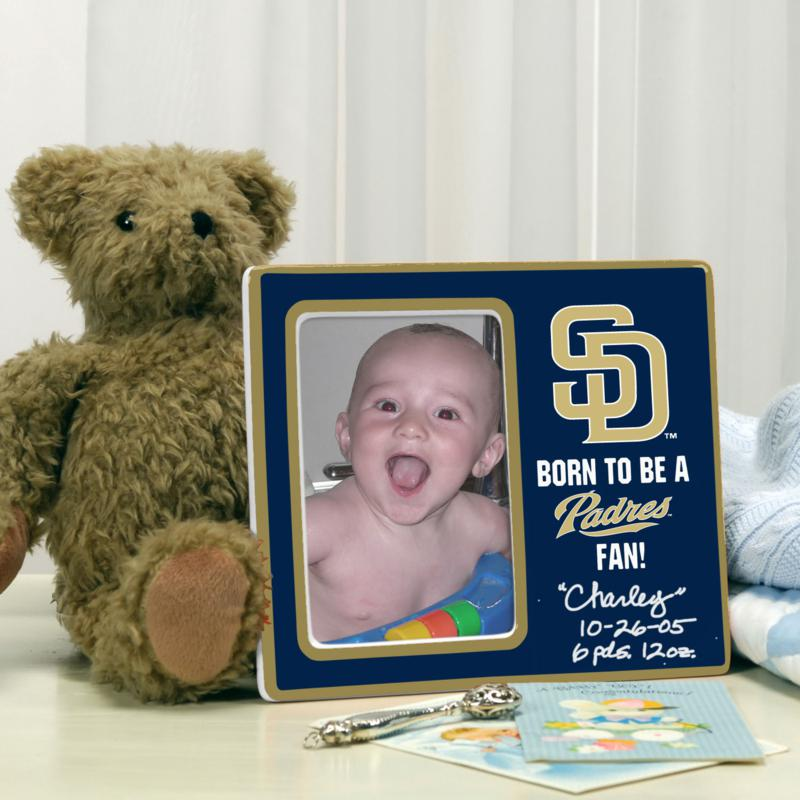 MEMORY Company Born to be a San Diego Padres Fan Photo Frame