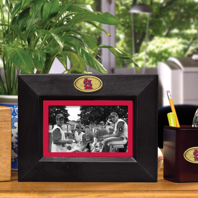 MEMORY Company Landscape Black Picture Frame - St. Louis Cardinals, MLB