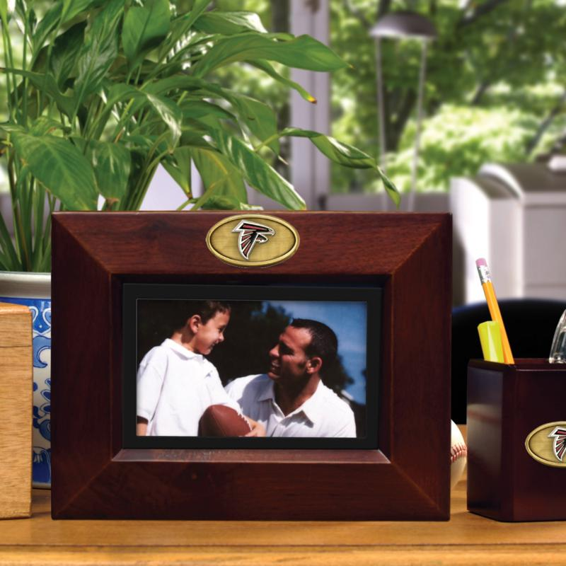 Football Fan Shop Landscape Brown Picture Frame - Atlanta Falcons - NFL