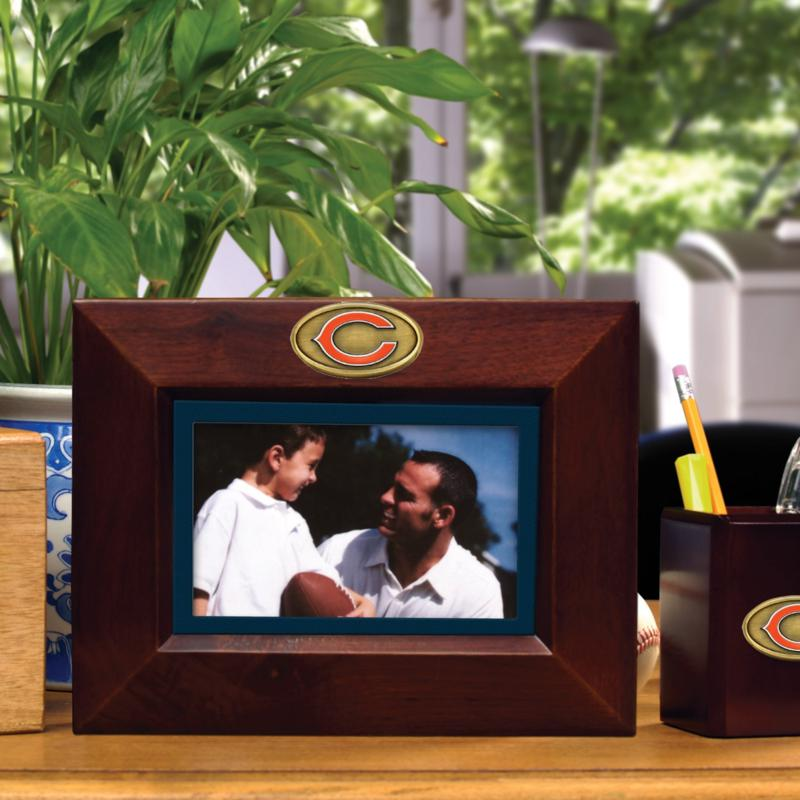 Football Fan Shop Landscape Brown Picture Frame - Chicago Bears - NFL