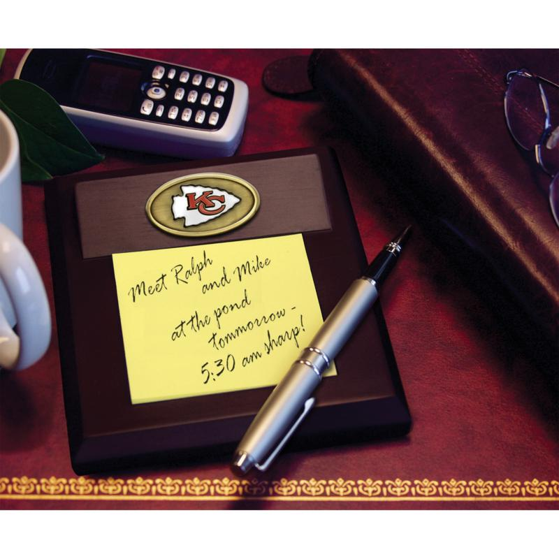 Football Fan Shop Memo Pad Holder - Kansas City Chiefs - NFL