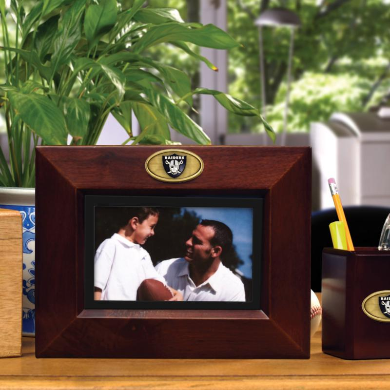 Football Fan Shop Landscape Brown Picture Frame - Oakland Raiders - NFL