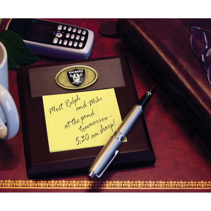 Football Fan Shop Memo Pad Holder - Oakland Raiders - NFL