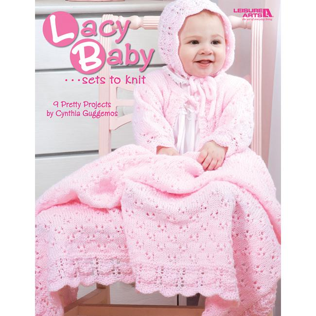 LEISURE ARTS Lacy Baby Sets to Knit from Leisure Arts